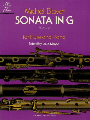 Michel Blavet: Sonata In G For Flute And Piano Op.2 No.1