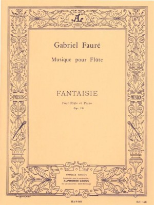 Gabriel Fauré: Fantaisie For Flute And Piano Op.79 Product Image