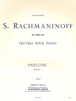 Sergei Rachmaninov: Prelude Op3 N02