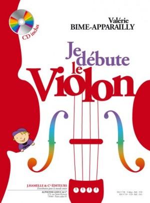 Valérie Bime-Apparailly - Je débute le violon (avec CD)