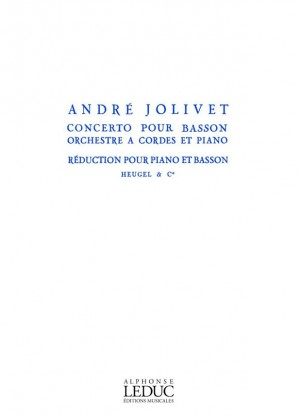André Jolivet: Concerto for Bassoon