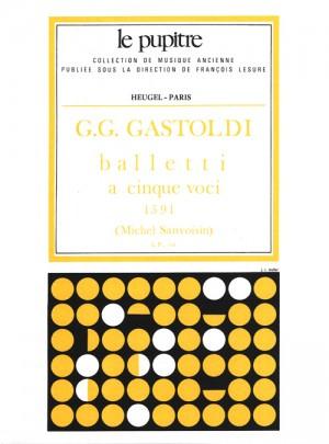 Gastoldi: Balletti à cinque voci