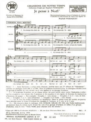 Anne Sylvestre: Chansons De Notre Temps