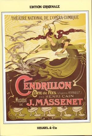 Massenet: Cendrillon pour chant et piano