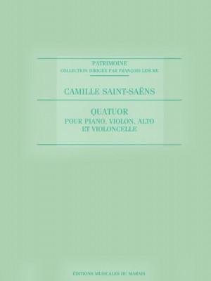 Saint Saens: Quatuor pour Piano, Violon, Alto et Violoncelle