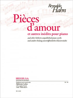 Reynaldo Hahn: Pieces d'amour Product Image