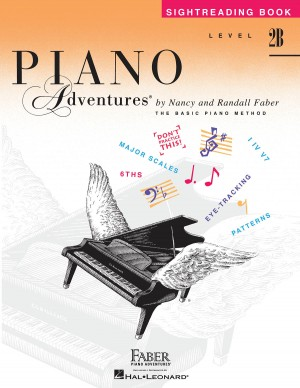 Nancy Faber_Randall Faber: Piano Adventures Level 2B -  Sightreading Book