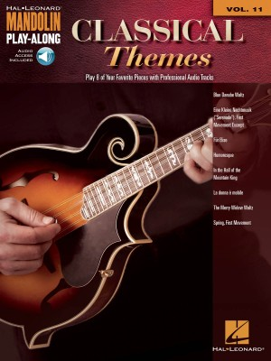 Mandolin Play-Along Volume 11: Classical Themes (Book/Online Audio) Product Image