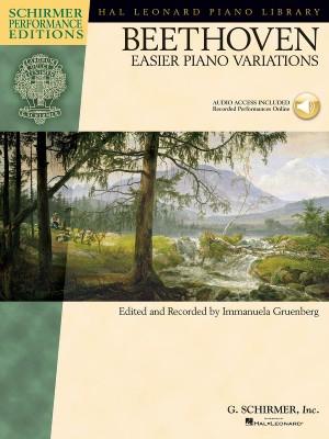 Ludwig van Beethoven: Easier Piano Variations