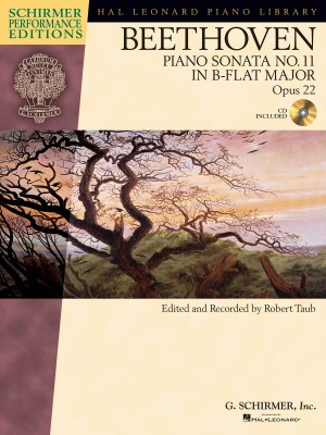 Ludwig Van Beethoven: Piano Sonata No.11 In B Flat Op.22 (Schirmer Performance Edition)