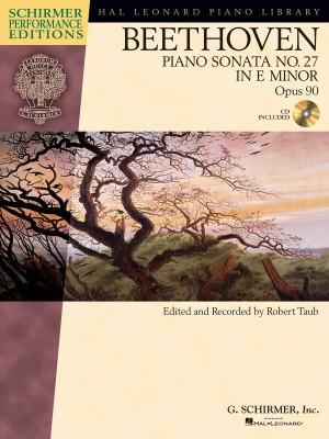 Ludwig Van Beethoven: Piano Sonata No.27 In E Minor Op.90 (Schirmer Performance Edition)