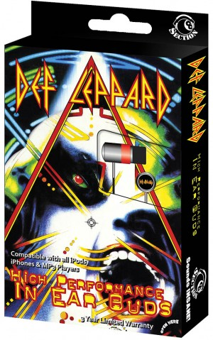 Def Leppard - In-Ear Buds