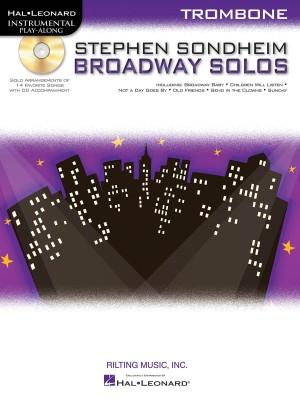 Stephen Sondheim: Stephen Sondheim Broadway Solos - Trombone