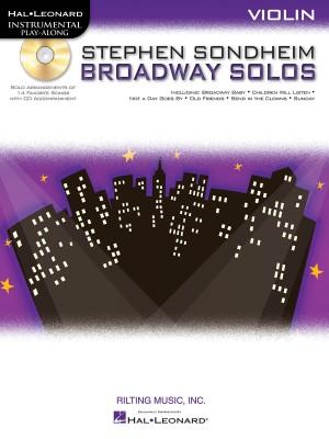 Stephen Sondheim: Stephen Sondheim Broadway Solos - Violin