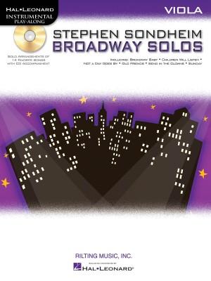Stephen Sondheim: Stephen Sondheim Broadway Solos - Viola