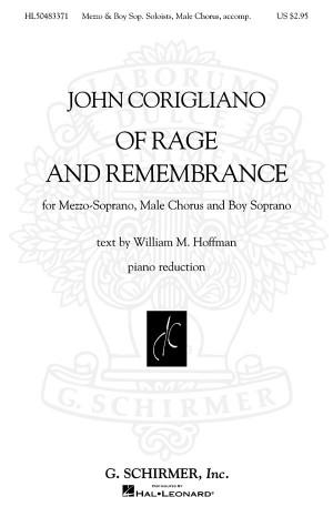 John Corigliano: Of Rage and Remembrance