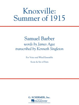 Barber: Knoxville: Summer of 1915