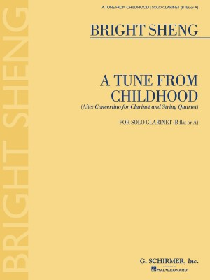 Bright Sheng: A Tune from Childhood Product Image