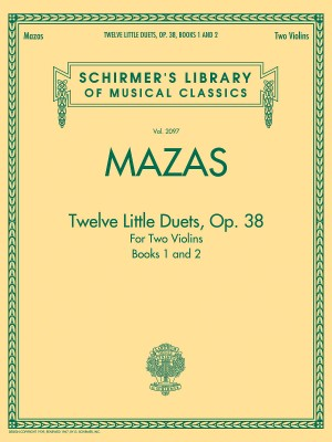 Jacques F. Mazas: Twelve Little Duets For Two Violins Op.38 (Books 1 & 2)