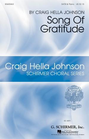 Craig Hella Johnson: Song Of Gratitude