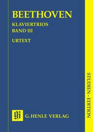 Ludwig van Beethoven: Piano Trios, Volume III