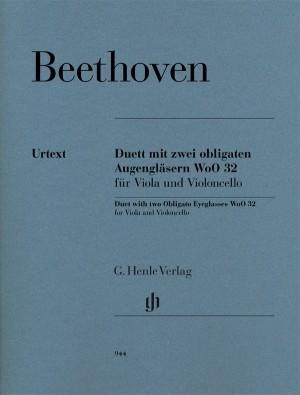 Ludwig van Beethoven: Duet With Two Obligato Eyeglasses
