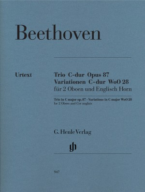 Ludwig van Beethoven Andante from Concerto in F Oboe /&... NM185