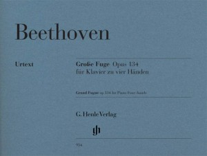 Ludwig van Beethoven: Grand Fugue Op.134 - Piano Four-Hands