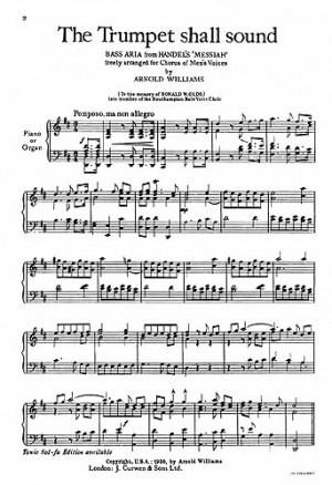 Handel: Messiah: The trumpet shall sound (page 1 of 2
