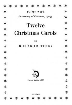 R. R. Terry: Twelve Christmas Carols