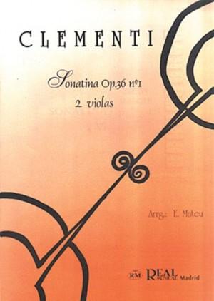 Muzio Clementi: Sonatina Op.36 No.1, para 2 Violas