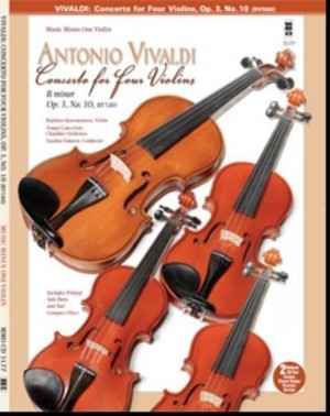 Music Minus One - Antonio Vivaldi: Concerto For Four Violins In B Minor Op.3 No.10 RV580