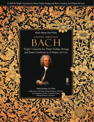 J.S. BACH: 'Triple' Concerto For Three Violins In D BWV1064