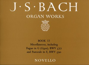 Johann Sebastian Bach: Organ Works Book 12