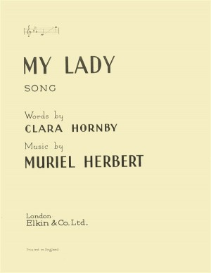 Muriel Herbert: My Lady Product Image