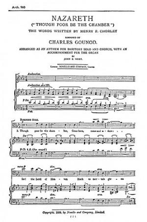 Charles Gounod: Nazareth