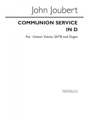 John Joubert: Communion Service In D, Op.46 Product Image