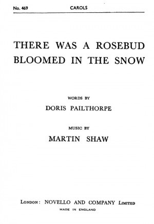 Martin Shaw: There Was A Rosebud Bloomed In The Snow Product Image