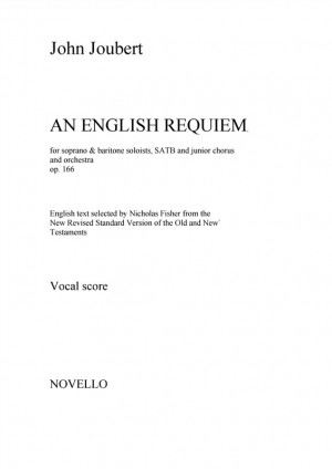 John Joubert: An English Requiem (Vocal Score) Product Image
