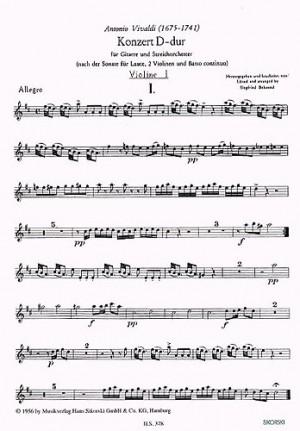 Antonio Vivaldi: Konzert | Presto Sheet Music