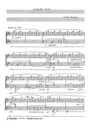 Piano & Keyboard » Piano Solo, Tanaka, K (composer) (page 1 of 1