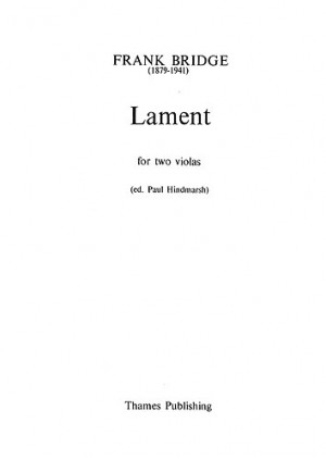Frank Bridge: Lament