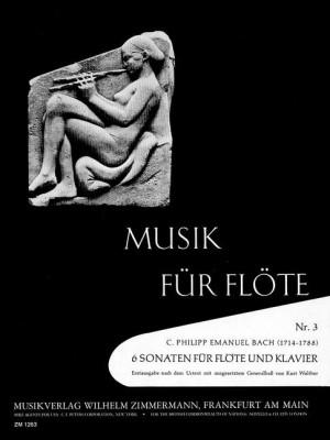 Bach, C P E: 6 Sonatas Wq 127