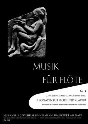 Bach, C P E: 6 Sonatas Wq 129