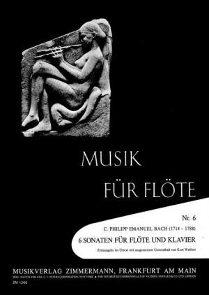 Bach, C P E: 6 Sonatas Wq 134