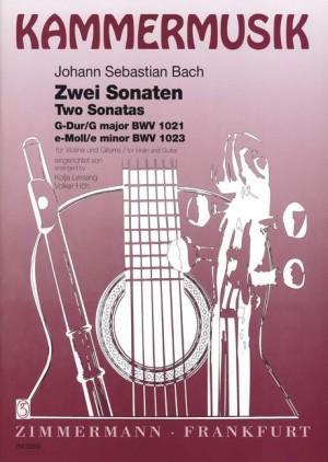 Bach, J S: Sonatas G major and E minor BWV 1021 und  BWV 1023