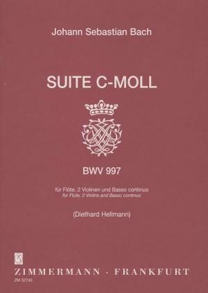 Bach, J S: Suite C minor BWV 997