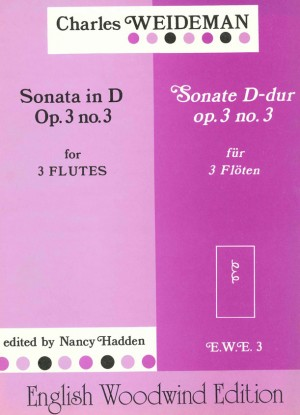 Weideman: Sonata in D