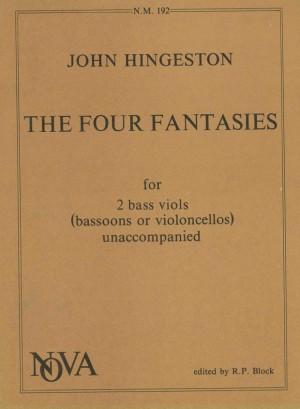 Hingeston: Four Fantasies Product Image