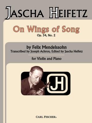 Mendelssohn: On Wings of Song (ed. J.Heifetz)